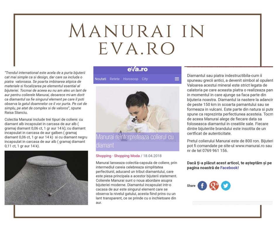 Manurai Aparitie in Presa
